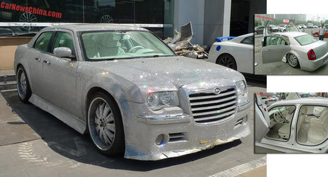 Carscoops: Chinese Chrysler 300 Takes Bling To A Whole New Sparkling Level | Consumer Automotive News | Scoop.it