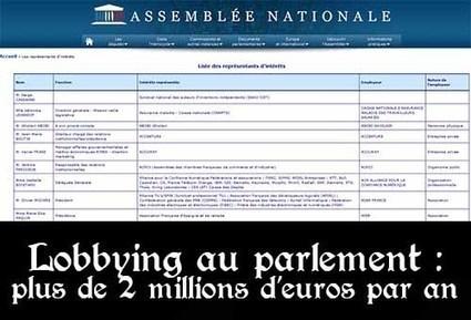 Les cabinets de lobbying dépensent entre 2 et 3 millions d'euros par an pour influencer députés et sénateurs | Politique, Economie & Social - France & International | Scoop.it