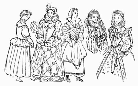 Elizabethan Fashion | Attire during the Elizabethan Epogue vs. the 1500s Italian Attire | Scoop.it