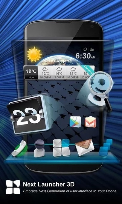 Next Launcher 3D v1.50 (full) APK Free Download | nice one | Scoop.it