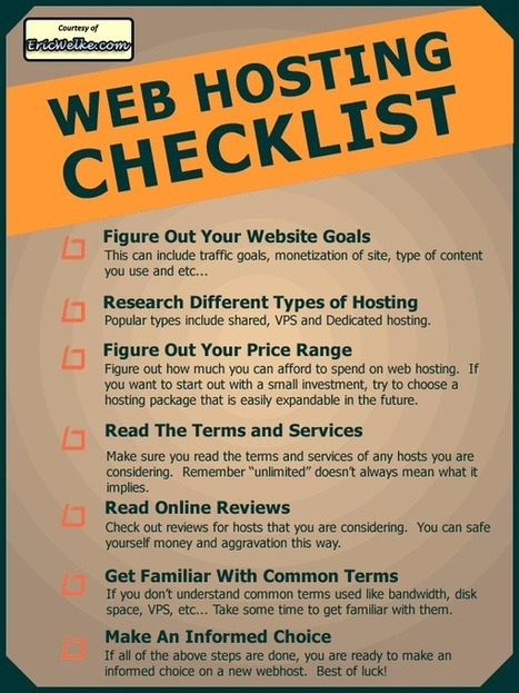 How to Find a Reliable Web Hosting Partner [Infographic] | Tips And Tricks For Pc, Mobile, Blogging, SEO, Earning online, etc... | Scoop.it