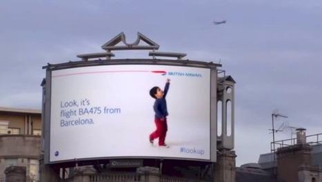 Unas vallas de British Airways que interactúan con los aviones del cielo | LOLAPublicity | Scoop.it