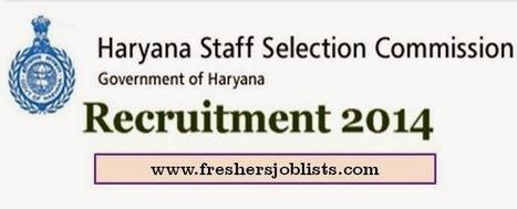 HSSC Recruitment 2014 – Apply Online for 8695 Clerks, Steno & Other Posts - Freshers Jobs   Freshers Jobs   IT Jobs   Govt Jobs   Bank Jobs   IT Walkins   Scoop.it