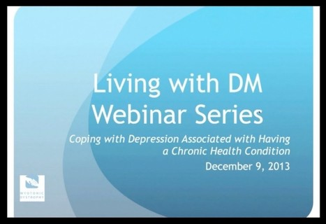 Webinar: Coping with Depression Associated with Having a Chronic Health Condition - YouTube | Pain Sufferers Speak | Scoop.it