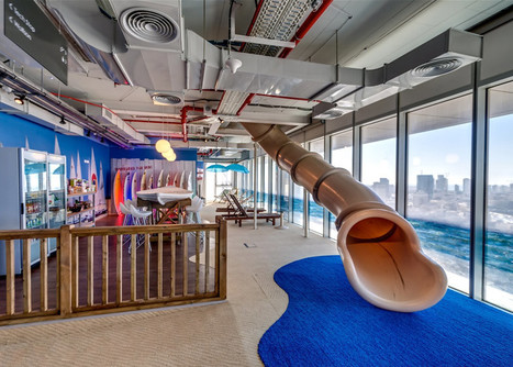 Google Tel Aviv by Camenzind Evolution | Coffee Break | Scoop.it