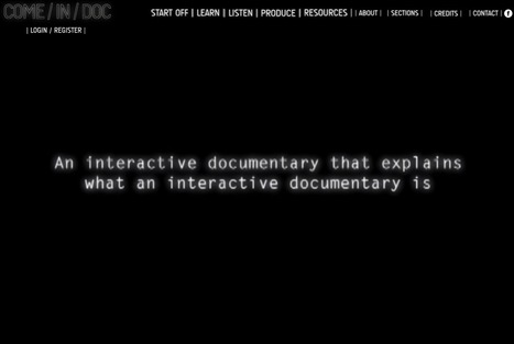 COME/IN/DOC - Intro | Interactive & Immersive Journalism | Scoop.it