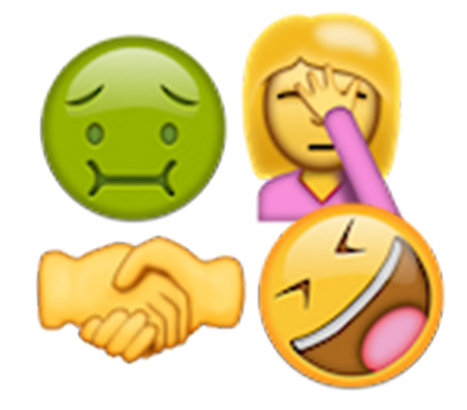 Meet the 67 new emoji candidates: shrug, selfie, 'call me' | Kickin' Kickers | Scoop.it