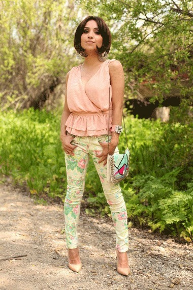 Styling with Florals | AMI Clubwear | Scoop.it