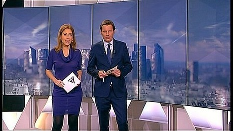 Le soutien-gorge en transparence de Léa Salamé sur I-Télé - photo | Radio Planète-Eléa | Scoop.it