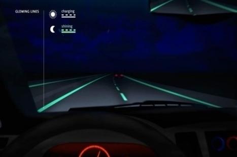 Pays-Bas : La route phosphorescente au service de la sécurité - Mon Coin Design | Design insolite | Scoop.it