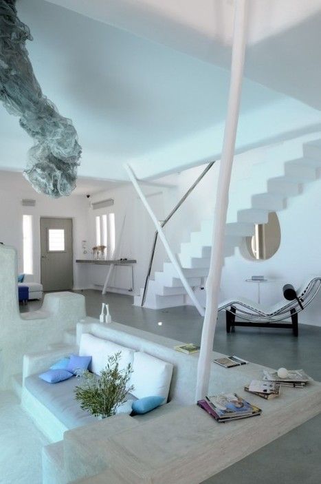Minimal Modern Summer House in Paros Cyclades [Greece] ... design by Logodotis | Trendland: Fashion Blog & Trend Magazine | Arte y Fotografía | Scoop.it
