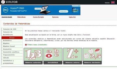 Vitutor: apuntes de matemáticas, ejercicios y problemas resueltos | MathematiKa | Scoop.it