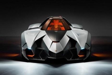 La Lamborghini Egoista fête les 50 ans de la marque au taureau indomptable :. | momoh | Scoop.it