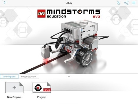 The 'Lego Education Mindstorms EV3 Programming' App is Now Available! ^ GeekMom ^ by Maryann Goldman | iEduc | Scoop.it