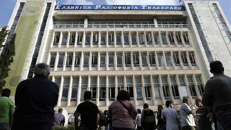 Employees seize Greek State TV and radio HQ after govt-announced suspension | kitnewtonium | Scoop.it