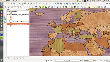 Marquetry map in QGIS | StylingM@p | Scoop.it