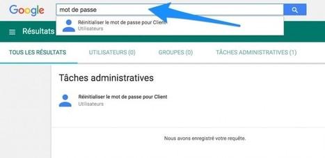 Une meilleure recherche dans la console d'admin | Google Apps  (FR) | Scoop.it