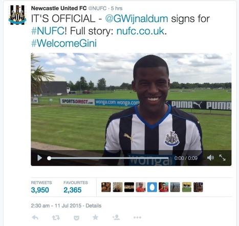 Newcastle Complete Signing of Georginio Wijnaldum from PSV - Fantasy Premier League Tips | Fantasy Premier League 2014-15 | Scoop.it