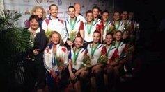 Gymnastique Aérobic : l'équipe de France, basée à Aix-les-Bains, est championne du monde | Savoie | Scoop.it