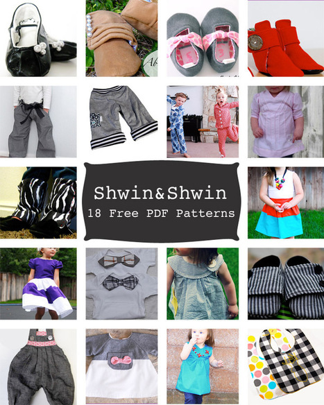 Shwin&Shwin: Free Pattern Round-up {18+ Patterns} | Baby Cool Stuff (from others) | Scoop.it