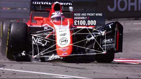 How much does a crash in Formula 1 cost? | Heron | Scoop.it