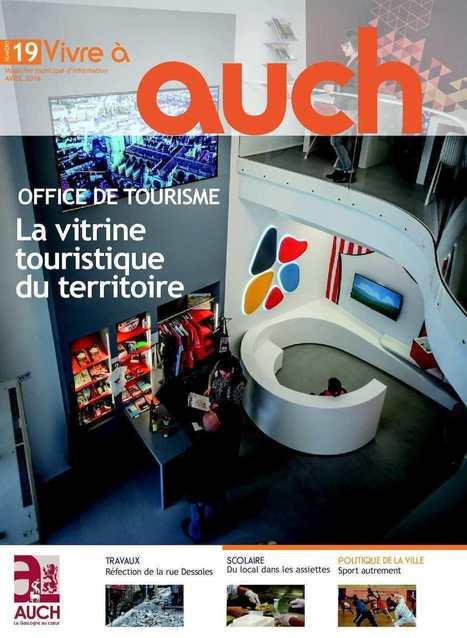 Vivre à Auch n°19 - avril 2016 | Actualité Digitale e-commerce - e-businnes. Sites Internet Toulouse et Gers. | Scoop.it