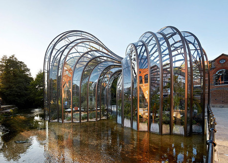 Hufton + Crow photograph Heatherwick's Bombay Sapphire distillery | Form, Structure & Complex Geometry Innovations | Scoop.it