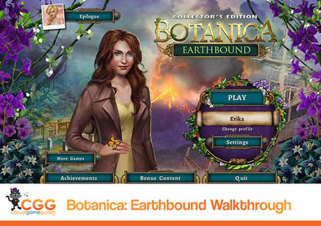 Botanica: Earthbound Walkthrough: From CasualGameGuides.com | Casual Game Walkthroughs | Scoop.it