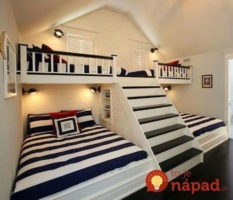 33 podkrovných miestností, ktoré majitelia premenili na úžasné detské izby! | domov.kormidlo.sk | Scoop.it