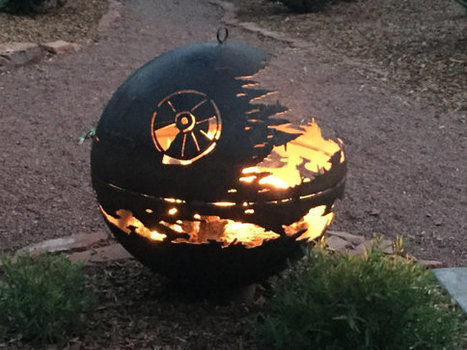 Custom Designed Death Star Fire Pit   Blingy Fripperies, Shopping, Personal Stuffs, & Wish List   Scoop.it