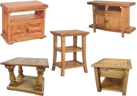 Graceful & Luxurious Home Decor Ideas with Rustic Furniture | Mexican Furniture & Decor | Scoop.it