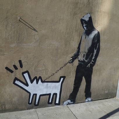 Banksy Street Art: When Street Art Is in a Museum, What's the Point? - PolicyMic - PolicyMic | Banksy - Street Artist | Scoop.it