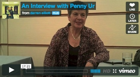 An Interview with Penny Ur: Darren Elliott | TELT | Scoop.it