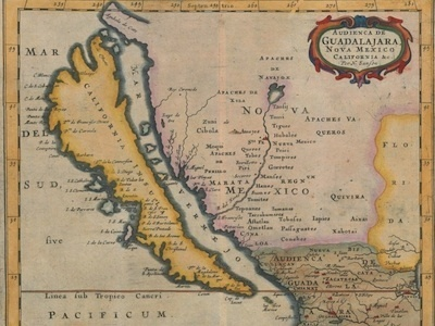 MAPS: People Used To Think California Was An Island | Digital Cartography | Scoop.it