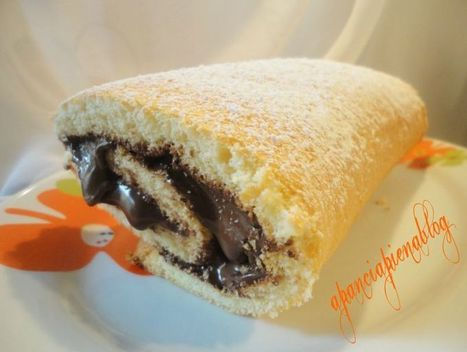 Rotolo alla nutella (ricetta supergolosa) | cupcake maniac | Scoop.it