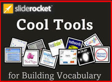 SlideRocket Sample: Cool Tools for Vocabulary | esl resources | Scoop.it
