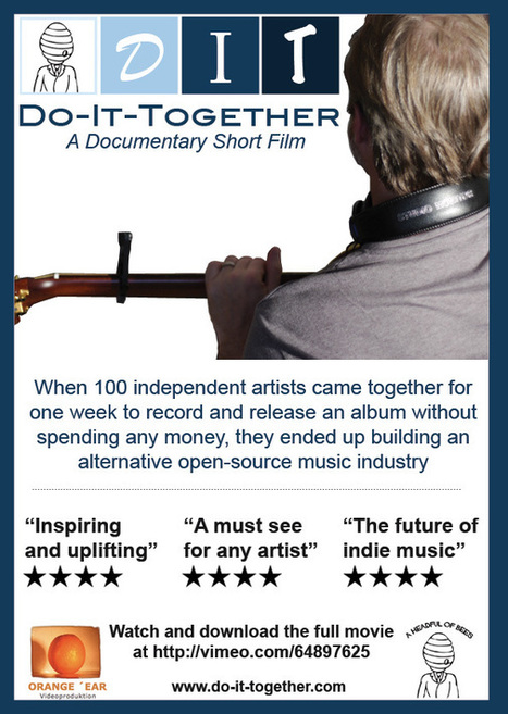 "CD Baby Exclusive: Watch ""DIT: Do-It-Together"" Before It Premiers Later This Month - DIY Musician Blog 