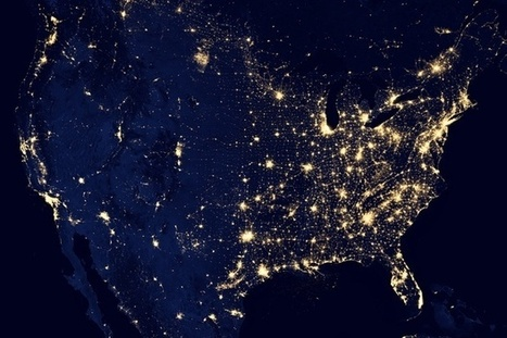 The Economic Data Hidden in Nighttime Views of City Lights | The Geo Feed | Scoop.it