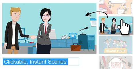 INTRODUCING: CLICKABLE, INSTANT SCENES – Quick Animated Video | Linguagem Virtual | Scoop.it