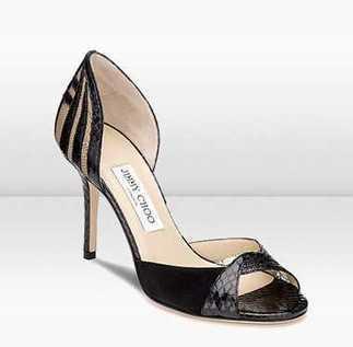Jimmy Choo Glossy Black Elaphe Snake SandalS suppliers | oil painting | Scoop.it