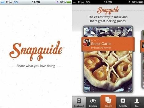 Créer et partager des tutoriels sur un iPhone avec Snapguide | Time to Learn | Scoop.it