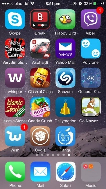 How to jailbreak iOS 8 on iPhone | Code Germs | CrunchModo | Scoop.it