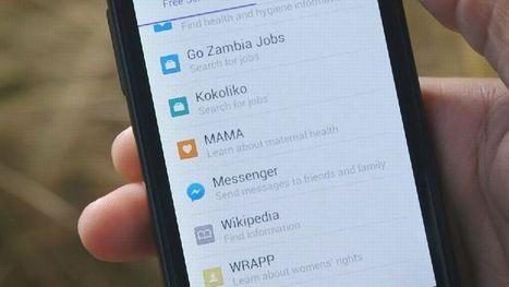 Facebook ouvre un accès à Internet gratuit en Zambie | Digital Savannah | Scoop.it