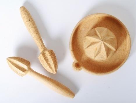 Um material totalmente novo e 100% biodegradável: casca de laranja.   Eco   Scoop.it