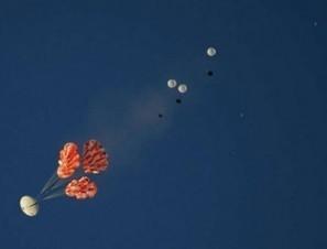 Orion parachute test evaluates failed chute scenarios - NASASpaceflight.com | New Space | Scoop.it