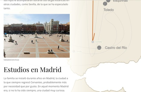 Un buscavidas errante. Los viajes de Cervantes. | Interactive & Immersive Journalism | Scoop.it