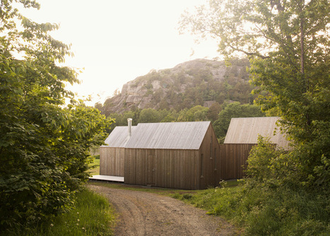 Reiulf Ramstad creates three glazed cabins as Norwegian holiday home | Idées d'Architecture | Scoop.it