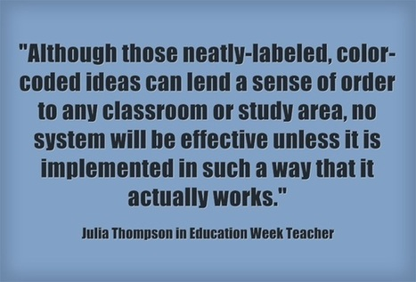 Response: Practical Ideas To Help Students & Teachers Stay Organized | Teaching Resources on the Web | Scoop.it