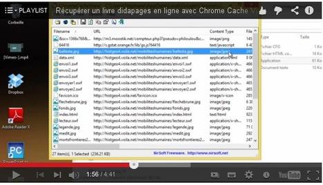 Récupérer un livre Didapages en ligne avec Chrome Cache View | TICE, Web 2.0, logiciels libres | Scoop.it
