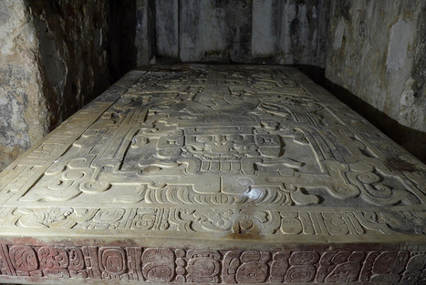 Non-invasive geophysical techniques help archaeologists study Pakal II's crypt - Art Daily | Shallow Geophysics | Scoop.it